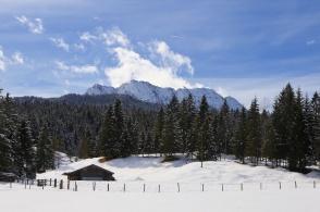 Am Quicken, Mittenwald, Klais, Krün, Bavaria, Bayern, Germany, fotoeins.com