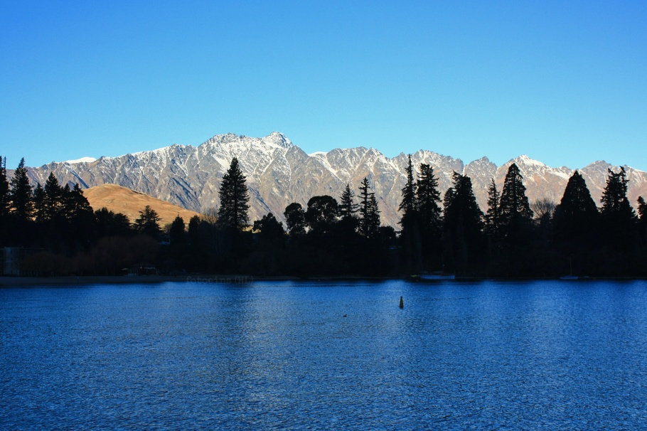 The Remarkables, Lake Wakatipu, Queenstown, Otago, South Island, Te Waipounamu, Aotearoa, New Zealand, fotoeins.com