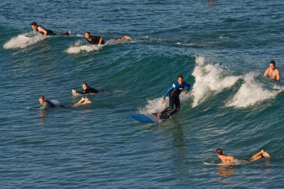 surfing, Bondi Icebergs Club, Bondi Beach, Sydney, NSW, Australia, fotoeins.com