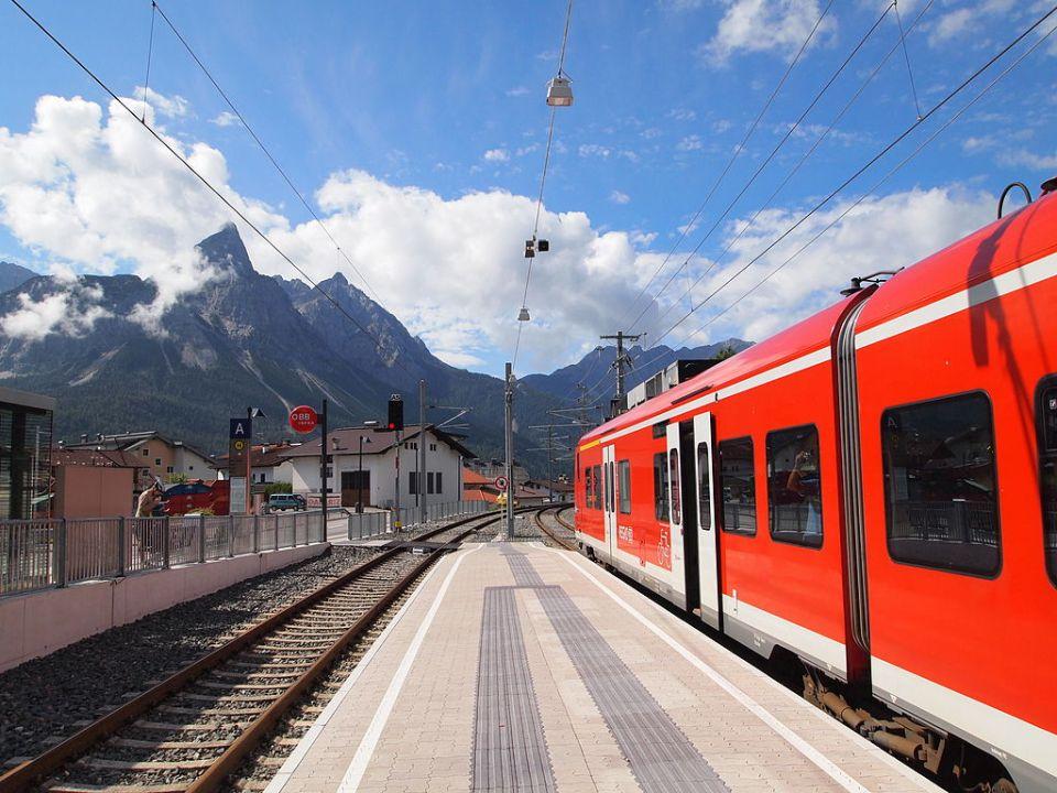 Ehrwald Bahnhof, Kulmalukko, Wikipedia