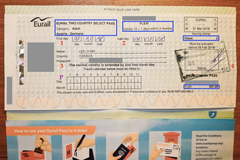 Eurail, rail pass, Germany, Austria, Deutsche Bahn, DB, OEBB, Oesterreichische Bundesbahnen, fotoeins.com