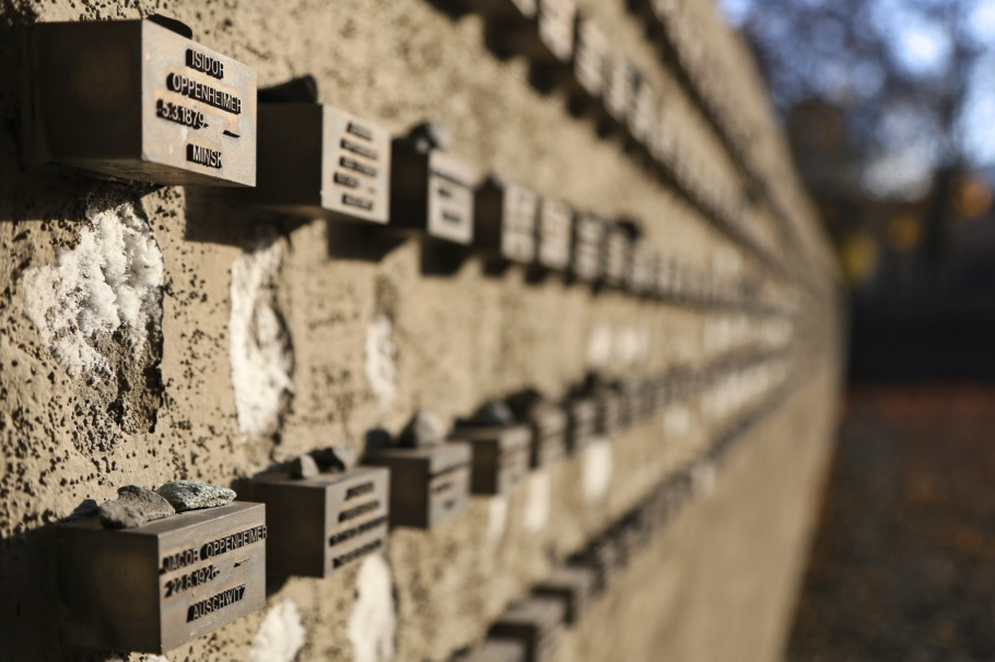 Gedenkstätte Börneplatz, Neuer Börneplatz Memorial Site, Frankfurt am Main, Hesse, Hessen, Germany, fotoeins.com