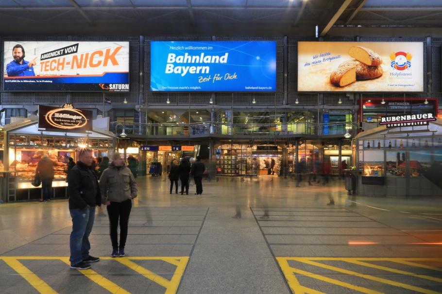 Hauptbahnhof, MVG München, U-Bahn, München, Munich, Germany, fotoeins.com