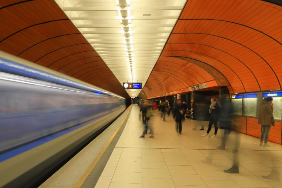 Marienplatz, MVG München, U-Bahn, München, Munich, Germany, fotoeins.com