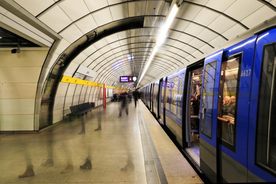 Lehel, MVG München, U-Bahn, München, Munich, Germany, fotoeins.com