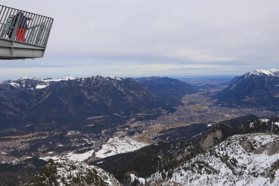 AlpspiX viewing platform, Alpspitze, Garmisch-Classic, Garmisch-Partenkirchen, Bavaria, Bayern, Germany, fotoeins.com