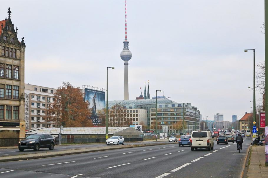 Kleine Gertraudenstrasse, Fernsehturm, ThatTowerAgain, Berlin, Germany, fotoeins.com