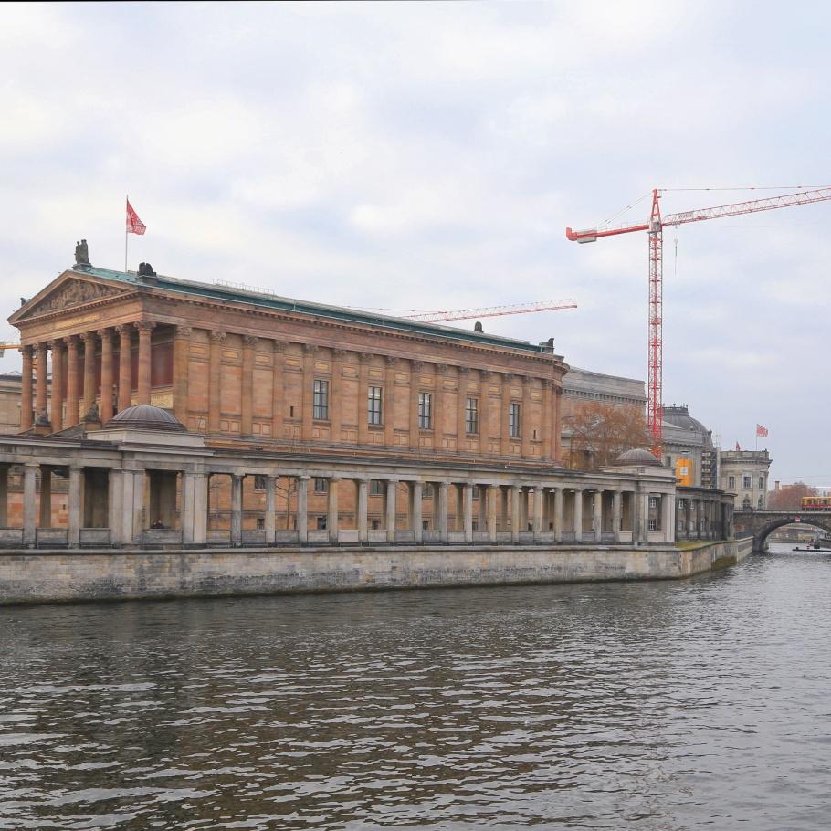 Alte Nationalgalerie, Pergamonmuseum, Bode-Museum, Museumsinsel, Museum Island, Spree, Berlin, Hauptstadt, Germany, Deutschland, UNESCO, World Heritage, fotoeins.com