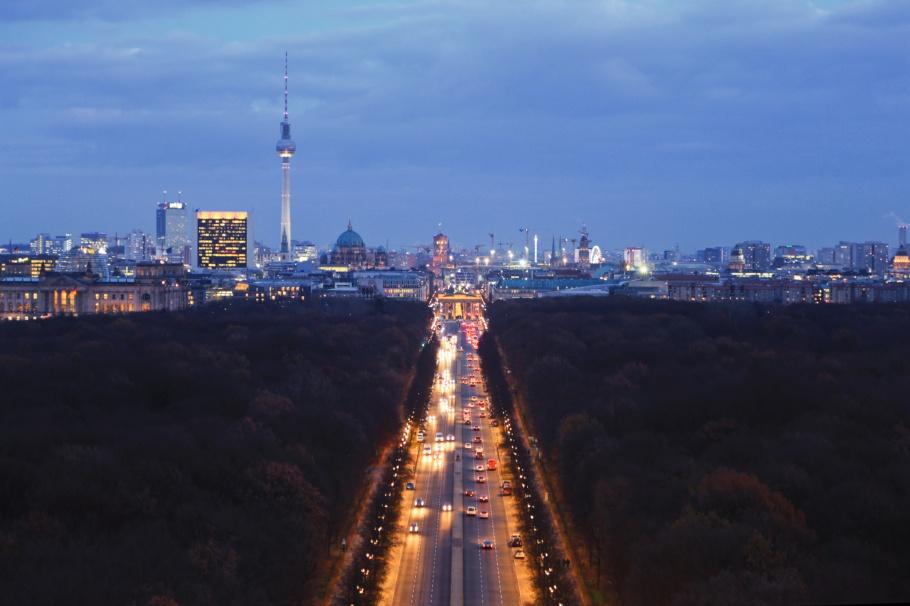 Siegessäule, Victory Column, Tiergarten, Fernsehturm, ThatTowerAgain, Berlin, Germany, Deutschland, fotoeins.com