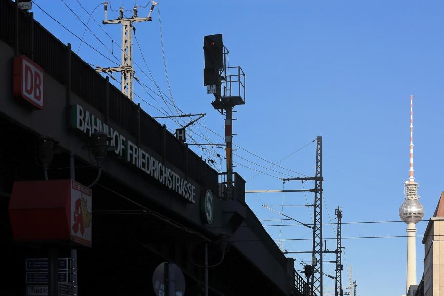 Bahnhof Friedrichstrasse, Fernsehturm, ThatTowerAgain, Berlin, Germany, fotoeins.com