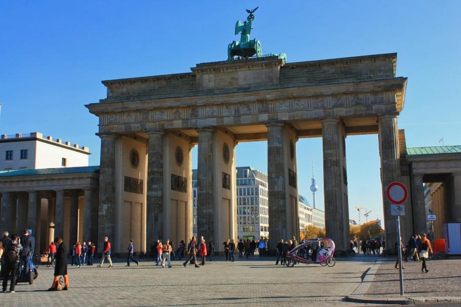 Brandenburger Tor, Brandenburg Gate, Fernsehturm, ThatTowerAgain, Berlin, Germany, fotoeins.com
