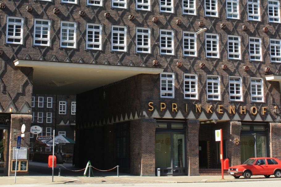 Sprinkenhof, Kontorhausviertel, UNESCO, Weltkulturerbe, World Heritage, Hamburg, Germany, fotoeins.com