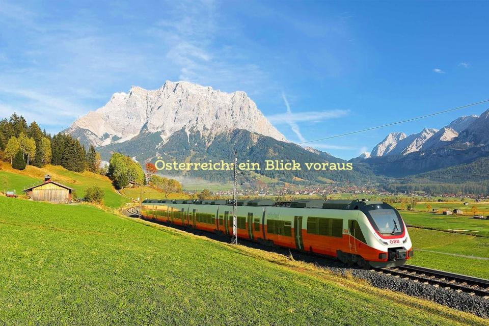OEBB, ÖBB, Bombardier, Lermoos, Tirol, Tyrol, Austria, Österreich, Oesterreich