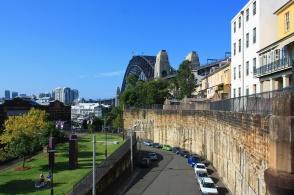 Pottinger Street Viaduct, Parbury Park, Cliff Top Walk, Sydney Harbour Bridge, The Rocks, Sydney, NSW, Australia, fotoeins.com