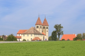 St. Peter and Paul, Reichenau, Bodensee, Lake Constance, Konstanz, Baden-Württemberg, Germany, fotoeins.com, UNESCO, World Heritage