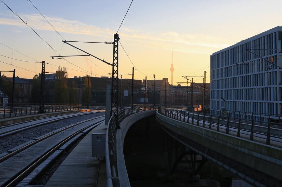 Hauptbahnhof, Fernsehturm, ThatTowerAgain, Berlin, Germany, fotoeins.com