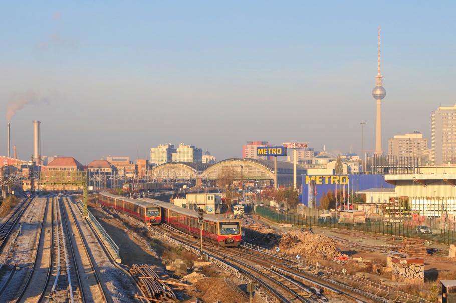 Fernsehturm, Warschauer Brücke, Berlin, Germany, fotoeins.com