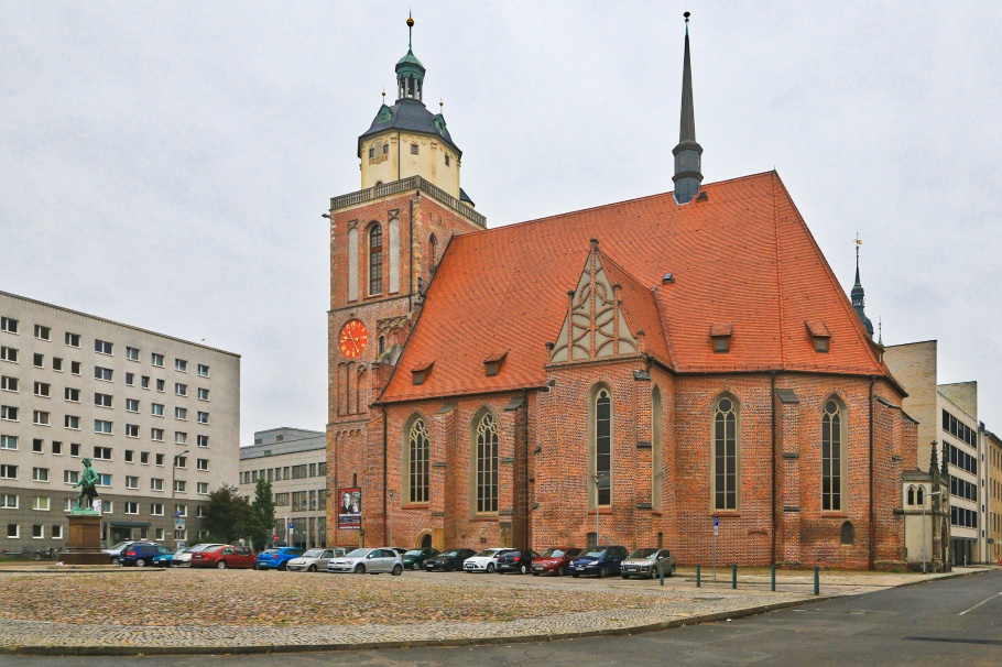 Marienkirche, Dessau-Rosslau, Saxony-Anhalt, Sachsen-Anhalt, Germany, fotoeins.com