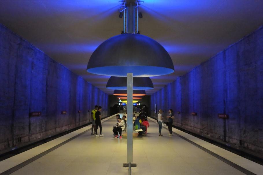 Westfriedhof, U1, U7, U-Bahn München, MVV, München, Munich, Germany, Deutschland, fotoeins.com