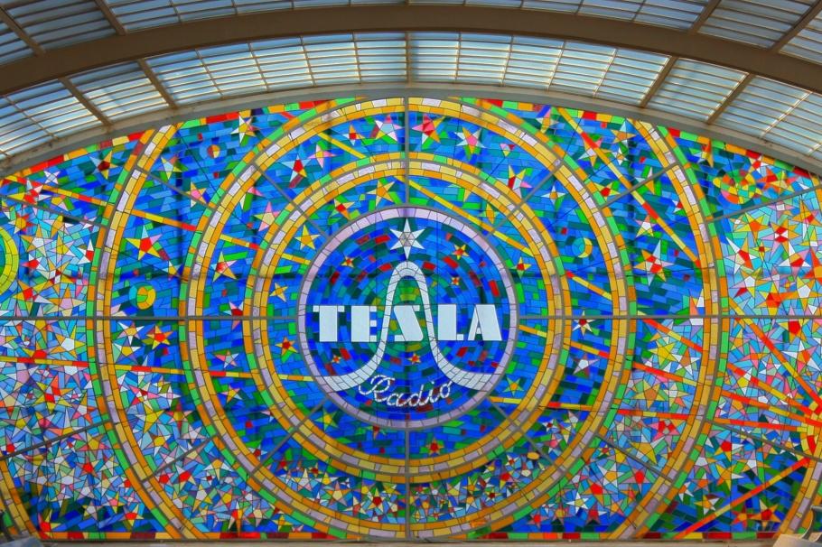 Stained glass, Technika Slboproudá, Pasáž Světozor, Praha, Prag, Prague, Czech Republic, fotoeins.com