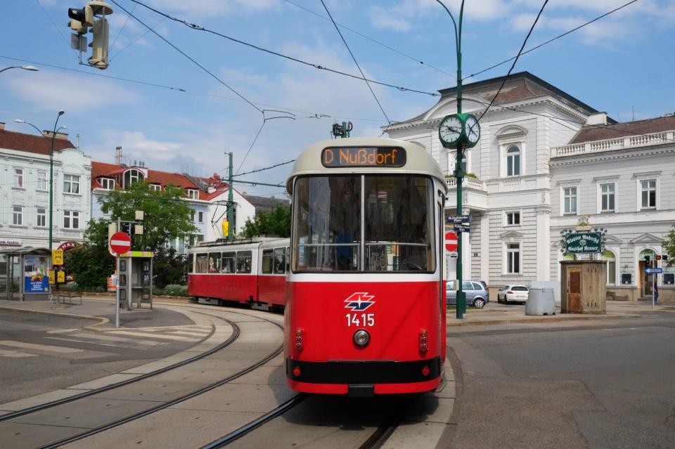 Strassenbahn, Linie D, Wiener Linien, Wien, Vienna, Oesterreich, Austria, fotoeins.com
