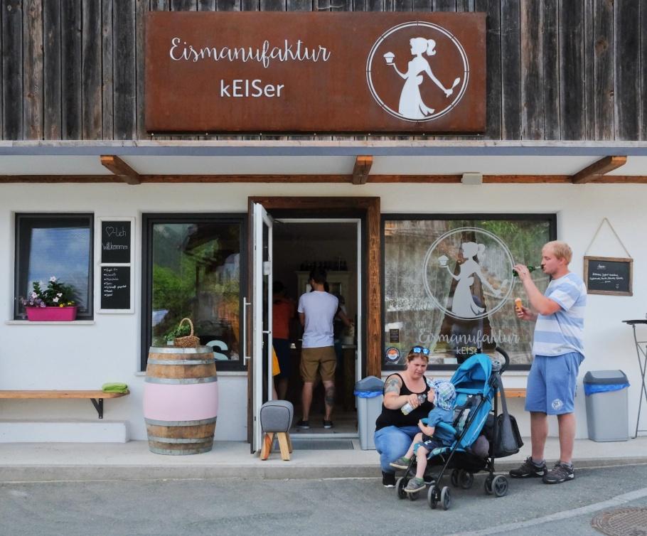 Eismanufaktur Keiser, Going am Wilder Kaiser, Going, Wilder Kaiser, Tirol, Tyrol, Austria, Oesterreich, fotoeins.com