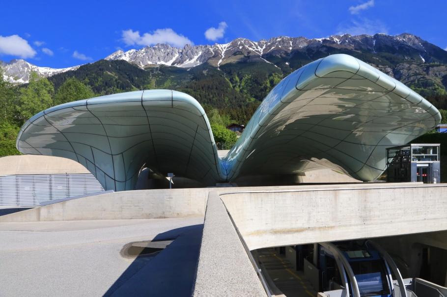Hungerburgbahn, Hungerburg station, Zaha Hadid, Innsbruck, Tirol, Tyrol, Oesterreich, Austria, fotoeins.com