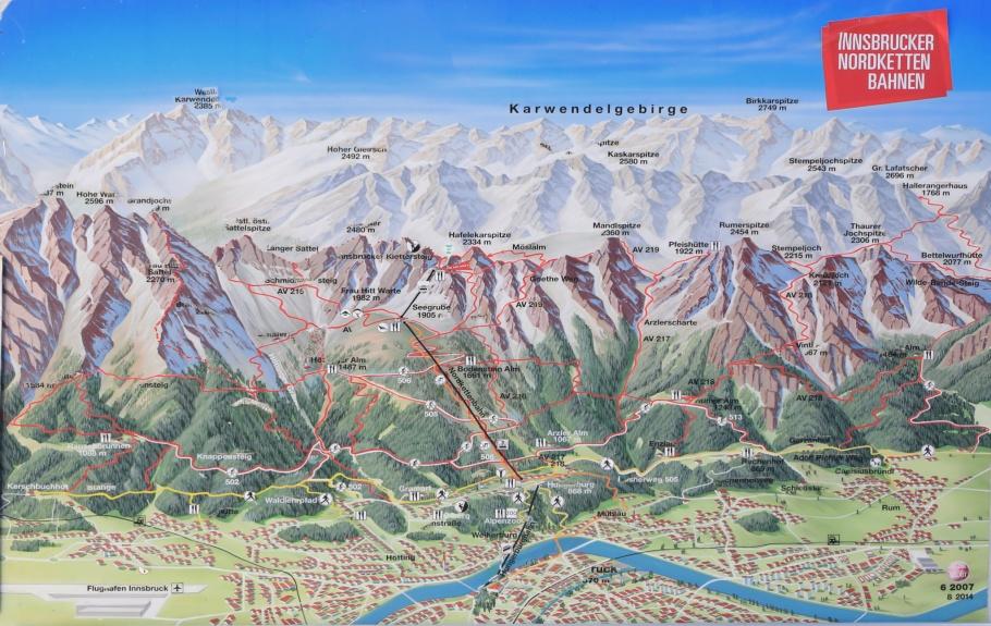 Innsbrucker Nordkettenbahnen, Innsbruck, Tyrol, Tirol, Austria, Oesterreich, fotoeins.com