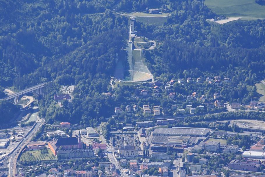 Bergiselschanze, Bergisel Ski Jump, Zaha Hadid, Innsbruck, Tirol, Tyrol, Oesterreich, Austria, fotoeins.com