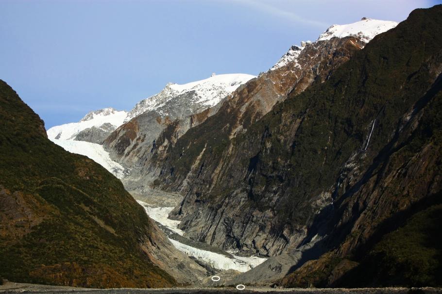Franz Josef Glacier, Ka Roimata o Hinehukatere, Waiho river, Te Wāhipounamu, Westland Tai Poutini National Park, South Island, Te Waipounamu, New Zealand, Aotearoa, fotoeins.com