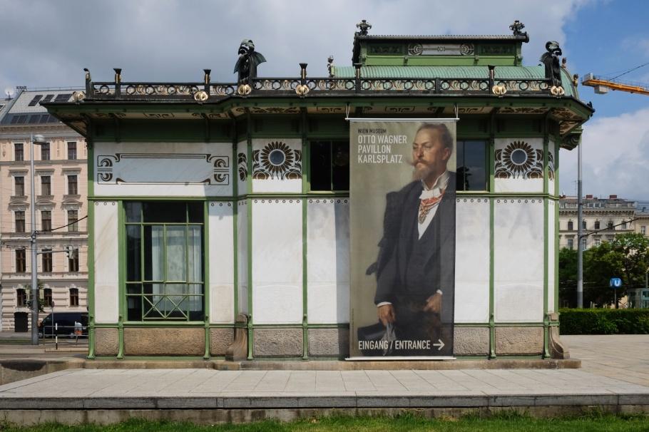 Karlsplatz, Pavillon Karlsplatz, Otto Wagner, Vienna Modernism, Wiener Moderne, Wien, Vienna, Oesterrich, Austria, fotoeins.com