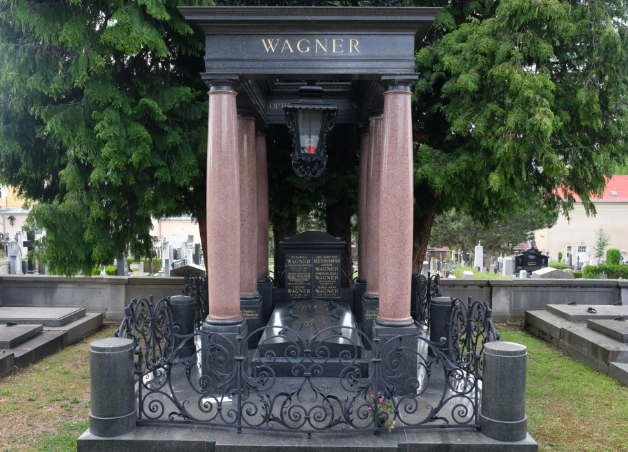 Otto Wagner, Wagner Familie, Friedhof Hietzing, Friedhoefe Wien, Vienna, Wien, Oesterreich, Austria, fotoeins.com