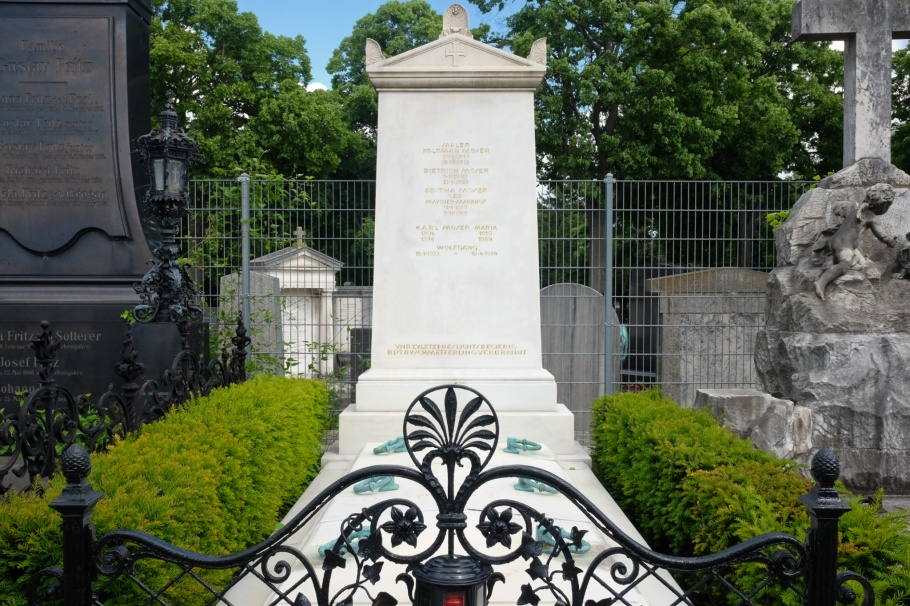 Koloman Moser, Moser Familie, Friedhof Hietzing, Friedhoefe Wien, Vienna, Wien, Oesterreich, Austria, fotoeins.com