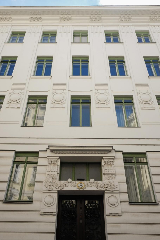 Wienzeilenhäuser, Otto Wagner, Wiener Moderne, Vienna Modernism, Vienna, Wien, Oesterreich, Austria, fotoeins.com