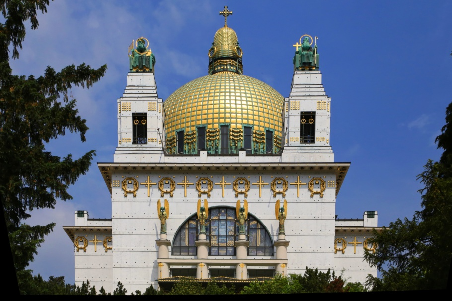 Kirche am Steinhof, Steinhof Church, Church of St. Leopold, Otto Wagner Spital,  Otto Wagner, Vienna Modernism, Wiener Moderne, Wien, Vienna, Oesterrich, Austria, fotoeins.com