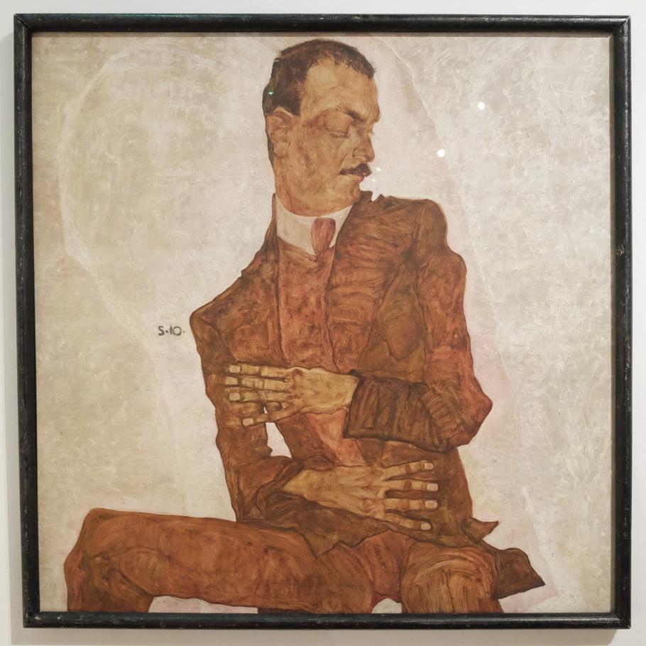 Egon Schiele, portrait, Vienna Modernism, Wiener Moderne, Vienna, Wien, Oesterreich, Austria, fotoeins.com