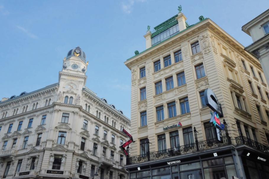 Ankerhaus, Otto Wagner, Vienna, Wien, Oesterreich, Austria