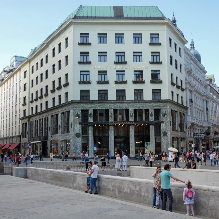 Looshaus, Adolf Loos, Wiener Moderne, Vienna Modernism, Vienna, Wien, Oesterreich, Austria, fotoeins.com