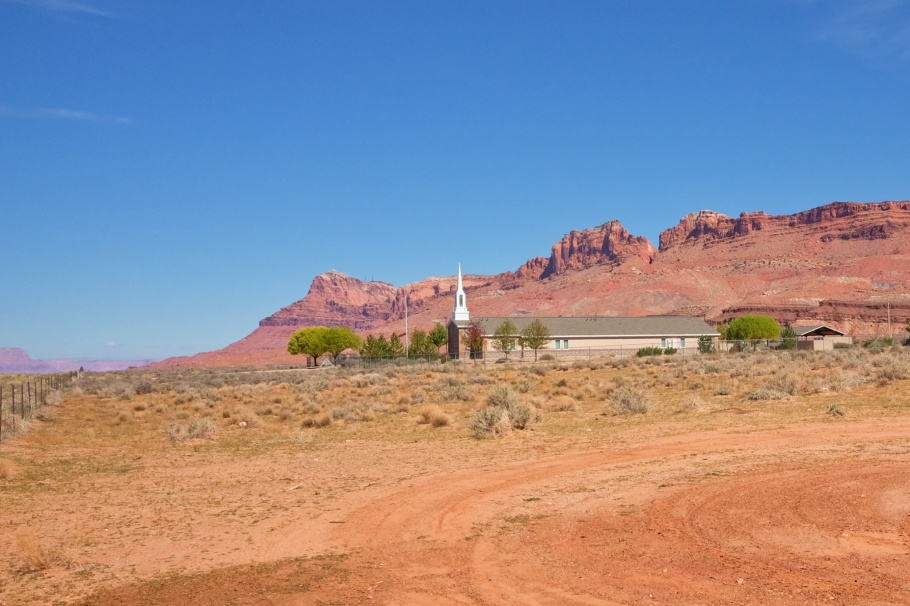 US route 89A, US-89A, Jct US-89A/89, Mormon Church, Bitter Springs, AZ, fotoeins.com