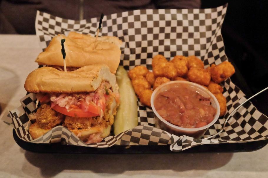 po'boy sandwich, Satchmo's, Flagstaff, AZ, USA, fotoeins.com