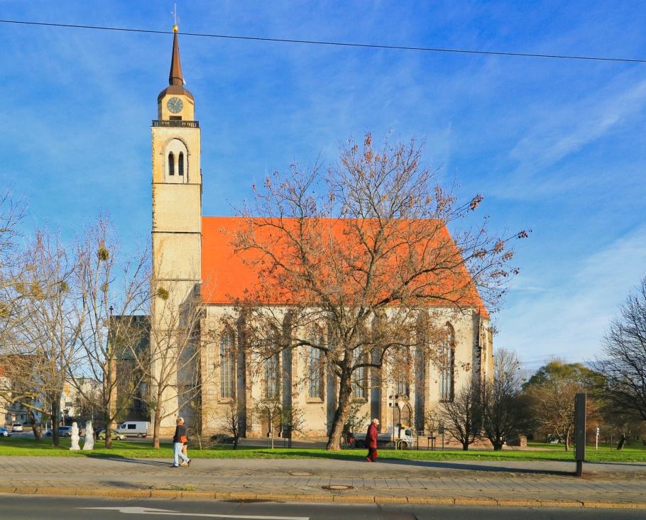 Johanniskirche, Martin Luther, Romanesque Road, Strasse der Romanik, Magdeburg, Sachsen-Anhalt, Saxony Anhalt, Germany, Deutschland, fotoeins.com