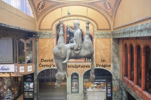 David Cerny, sculpture, contemporary art, Prague, Praha, Czech Republic, fotoeins.com
