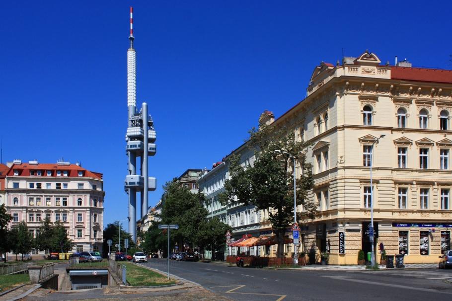 námesti Jiřího z Poděbrad, Přemyslovská, Prague 3, Prague, Praha, Czech Republic, fotoeins.com