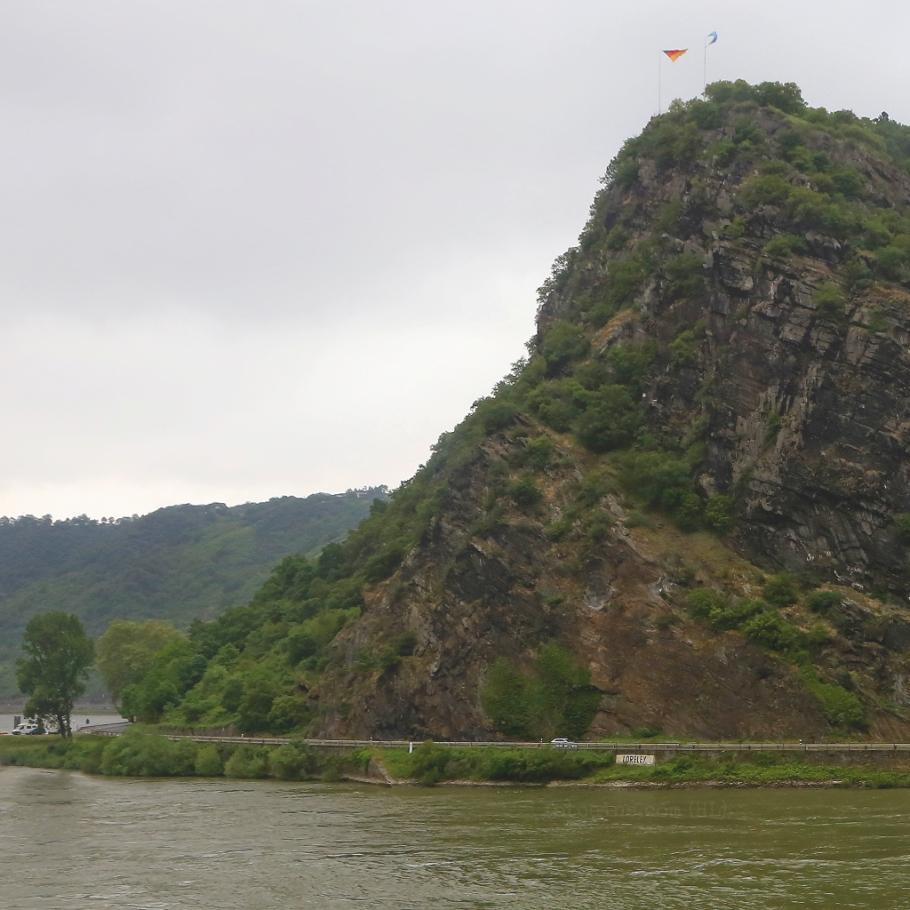 Loreley, St. Goar, Rhein, Rhine, Oberes Mittelrheintal, Upper Middle Rhine Valley