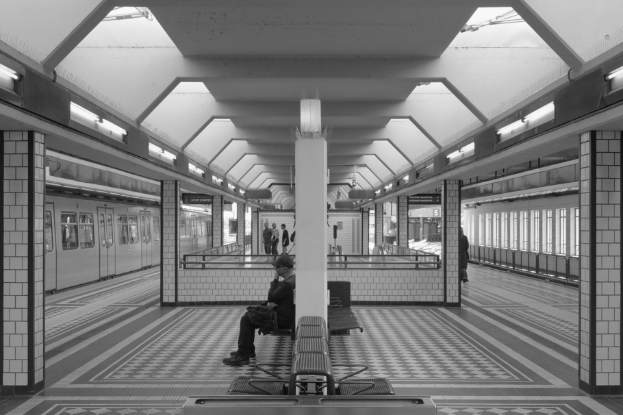 Hütteldorf, Hütteldorf-Hacking, Wien U4, Wiener Linien, Wiener Stadtbahn, Otto Wagner, Wiener Moderne, Vienna Modernism, Vienna, Wien, Austria, Oesterreich, fotoeins.com