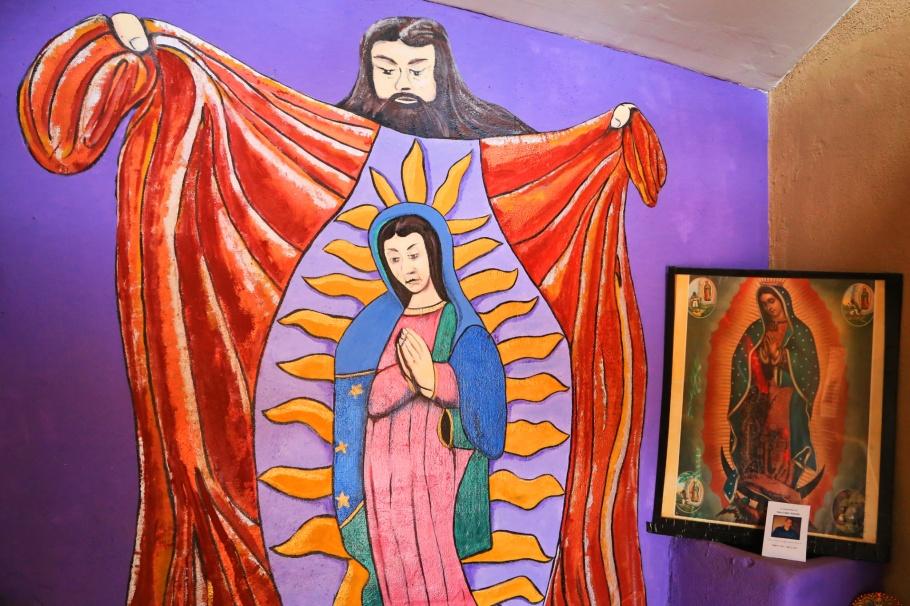 Chapel of Our Lady of Guadalupe, Capilla de Nuestra Senora de Guadalupe, Albuquerque Old Town, Albuquerque, New Mexico, USA, fotoeins.com