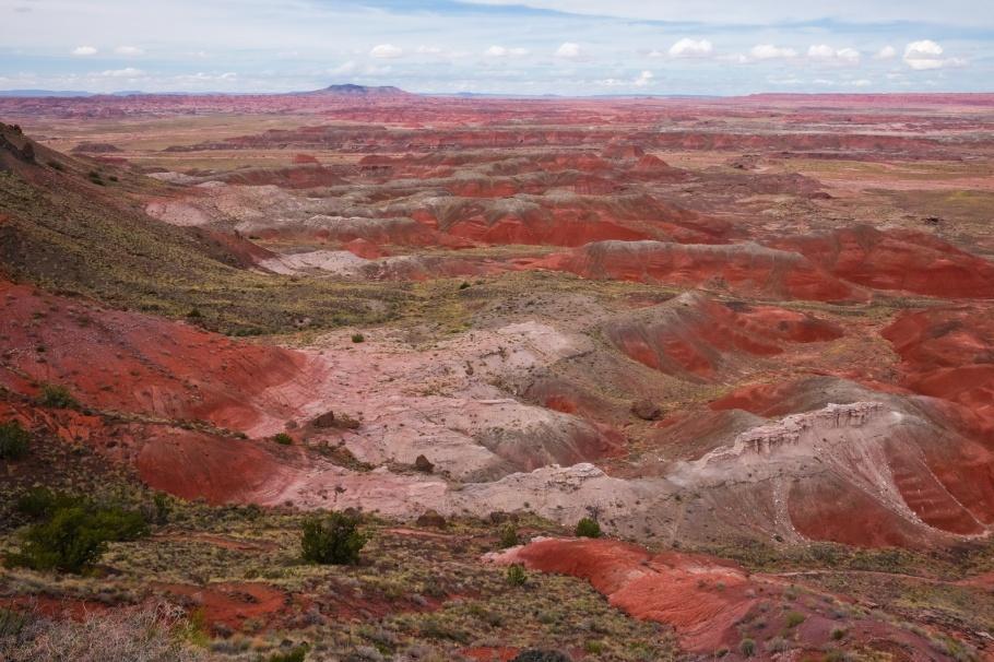 Painted Desert, Kachina Point, Petrified Forest National Park, AZ, fotoeins.com