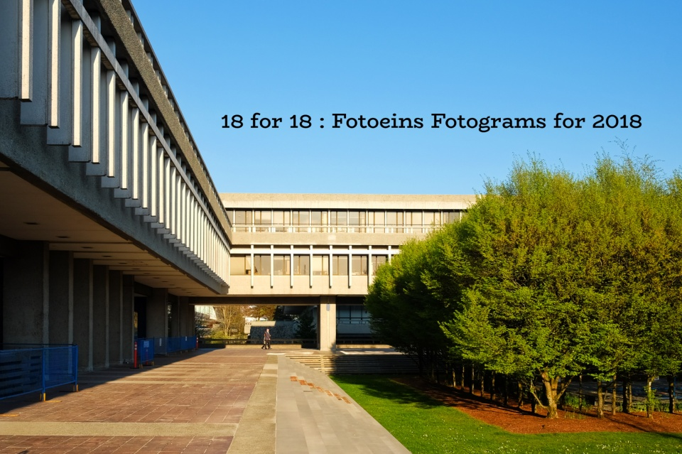 18 for 18, Fotoeins Fotograms