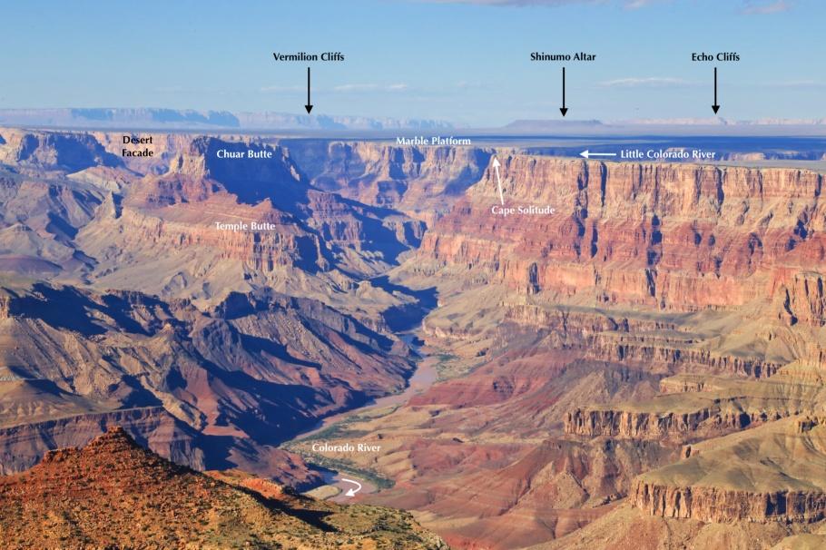 Navajo Point, South Rim, Grand Canyon, Grand Canyon National Park, AZ, USA, fotoeins.com