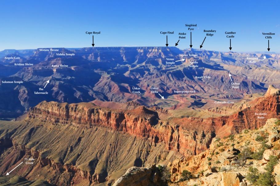Lipan Point, South Rim, Grand Canyon, Grand Canyon National Park, AZ, USA, fotoeins.com